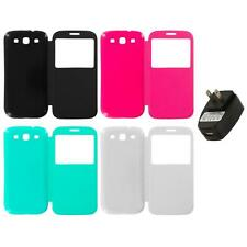 For Samsung Galaxy S3 Back Rear Slim Battery Door Cover Case Wall Charger