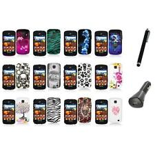 For Samsung Proclaim S720C Illusion Color Hard Design Case Cover+Charger+Pen
