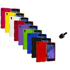 For Sony Xperia Z2 Hard Snap-On Matte Case Cover Accessory Mini Stylus
