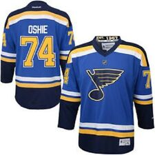NHL St. Louis Blues TJ Oshie Youth Ice Hockey Shirt Jersey