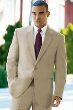 Tailored Men's Velvet Wedding Suits Groom Tuxedos Business Suits Best Man Suits