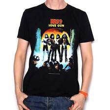 Kiss T Shirt - Love Gun 100% Official Fully Licensed Kiss Merchandise Awesome !