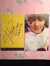 EXO Growl Exodus Love Me Right Lotto Photocard Fanmade Kai Chanyeol Baekhyun