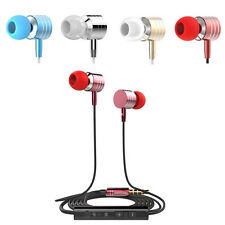 In-Ear Headset Earphone Earbud Control Mic Portable Headphone for Samsung iPhone