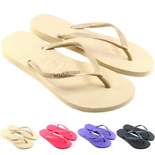 Womens Havaianas Slim Flip Flops Original Box Brasil Brazil Ladies Sandals 4-9