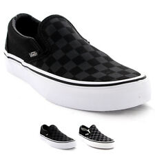 Unisex Adults Vans Classic Slip On Checkerboard Skate Shoes Trainers UK 2.5-12