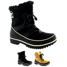 Womens Sorel Tivolli Ii Winter Waterproof Fur Boots Snow Lace Up Rain US 5-10