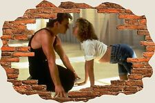 3D Hole in Wall Dirty Dancing View Stickers Decal Mural 1084