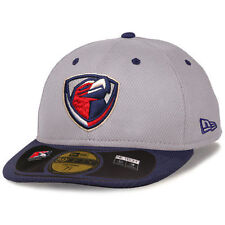 New Era Lancaster JetHawks Gray Low Crown Diamond Era 59FIFTY Fitted Hat