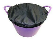 BITZ FLEXI FEED TUB COVER LARGE EQUINE HORSE BUCKETS & TUBS