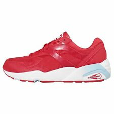 Puma R698 Mesh-Neoprene JR Red White Kids Youth Running Shoes Sneakers 359711-04