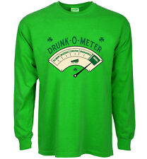 funny st patricks day t-shirt drunk o meter beer paddys day tee bar crawl drunk