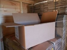 """Cheap Used Cardboard Boxes Double Walled Packing Removal Storage 23""""x15""""x11"""""""