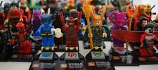 BUILDING BLOCK MINIFIGURES DC, MARVEL, AVENGERS, X-MEN, JUSTICE LEAGUE, DEADPOOL