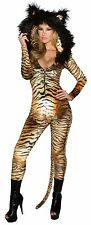 Tiger Catsuit Costume Animal Costume Hooded Tiger Catsuit J Valentine CC229