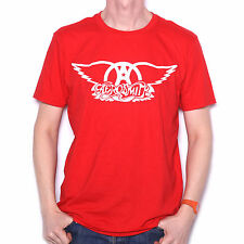 Aerosmith T Shirt - Classic Get Your Wings Logo 100% Official 70's Rock