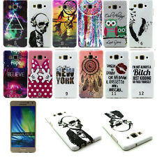 New Patterned Ultra thin soft TPU Silicone Back Case Cover For Samsung Galaxy