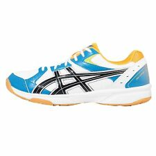 Asics Rivre CS Blue Yellow Mens Indoor Volleyball Badminton Shoes TVRA03-0142