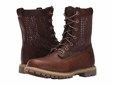 Women's Shoes Timberland Authentic Open Weave 6 Inch Boot A14A9 Brown  *New*