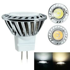 MR11 1W AC DC 12V Downlight Spot Light Warm /Cool White CREE LED Bulb Lamp New