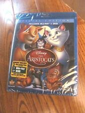 The Aristocats:Disney; Blu-ray/DVD, 2012,2-Disc,Special Edition) I Ship Faster
