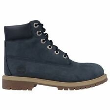 Timberland Authentic 6 Inch WP BT Navy Kids Boots