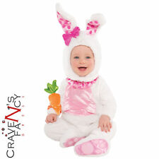 Baby Wittle Wabbit Costume Easter Bunny Rabbit Animal Infant Fancy Dress Outfit
