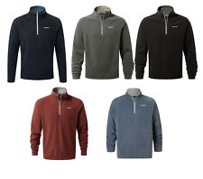 Craghoppers Mens Fleece Selby Half Zip Lightweight Micro Walking Fleece Top