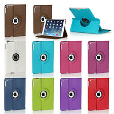 For Apple iPad Mini 4 360 Degree Rotating Flip PU Leather Smart Cover Stand Case