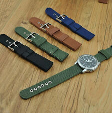 New Buckle Infantry Military Wrist Army Nylon Canvas Watch Strap Wristwatch Band