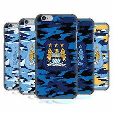 OFFICIAL MANCHESTER CITY MAN CITY FC CAMOU BACK CASE FOR APPLE iPHONE PHONES