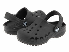 Kids Crocs Baya Clog Sandal Black 100% Original Brand New