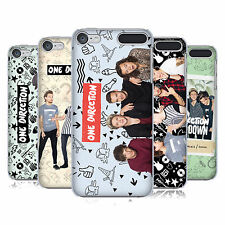OFFICIAL ONE DIRECTION GROUP PHOTO DOODLE ICON CASE FOR APPLE iPOD TOUCH MP3