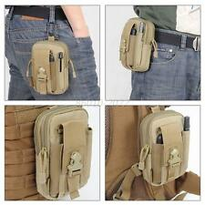 Outdoor Tactical Waist Fanny Pack Belt Bag EDC Camping Hiking Pouch Wallet Bags