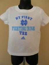 NEW Notre Dame Fighting Irish Toddler Infant 12-24 Month ADIDAS Shirt