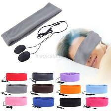 Universal Sleeping Headphone Sports Headphone Cotton Headband For Cell Phone M27