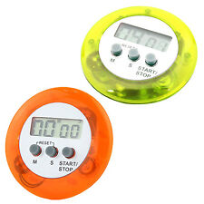Cute Digital LCD Magnetic Timer Alarm Home Kitchen Cooking Countdown HY