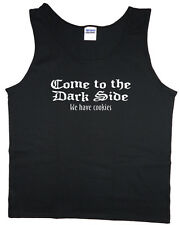 Men's tank top come to the dark side we have cookies funny shirt sleeveless tee