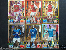 Match Attax Extra 2015/16 Hundred club, Hat-trick hero Limited Edition cards