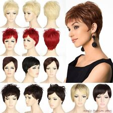 Adjustable Short Full Wig Cosplay Party Halloween Natural Thick Women Black OP
