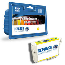 REMANUFACTURED (NON GENUINE) T0544 FROG SERIES YELLOW INK CARTRIDGE FOR EPSON