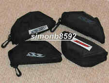 ESS ICE BALLISTIC SUNGLASSES PROTECTIVE BLACK NYLON CASE USED GRADE 1 & 2,