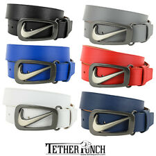 Nike Golf Signature Swoosh Cut Out II Belt - SELECT SIZE & COLOR - $45 RETAIL