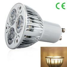 1/10pcs E27 GU10 MR16 Dimmable 9W  LED Lamp Spot Light Bulb Cool/ Warm White