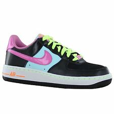 Nike Air Force 1 GS Black Multi Youths Trainers
