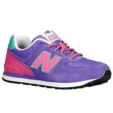 New Balance Classic Traditionnel Purple Youths Trainers