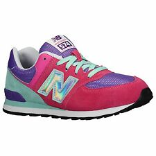 New Balance Classic Traditionnel Pink Youths Trainers