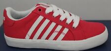 Children's K Swiss Belmont SO Low Sneakers Raspberry/White 53325627 Brand New