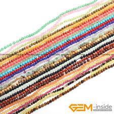 """Natural Assorted Stones Tiny Seed Spacer Loose Beads For Jewellery Making 15"""""""