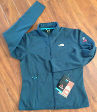 The North Face Womens Flux Powerstretch Jacket Summit Series KodiakBlue  XS $130